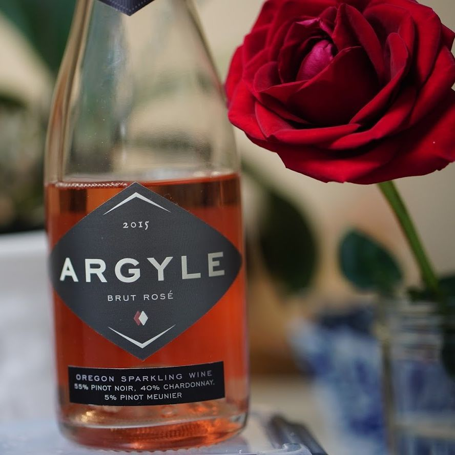 Celebrate Earth Day With Argyle Brut Rose In 2020 Sparkling Wine Types Of Champagne Champagne Region