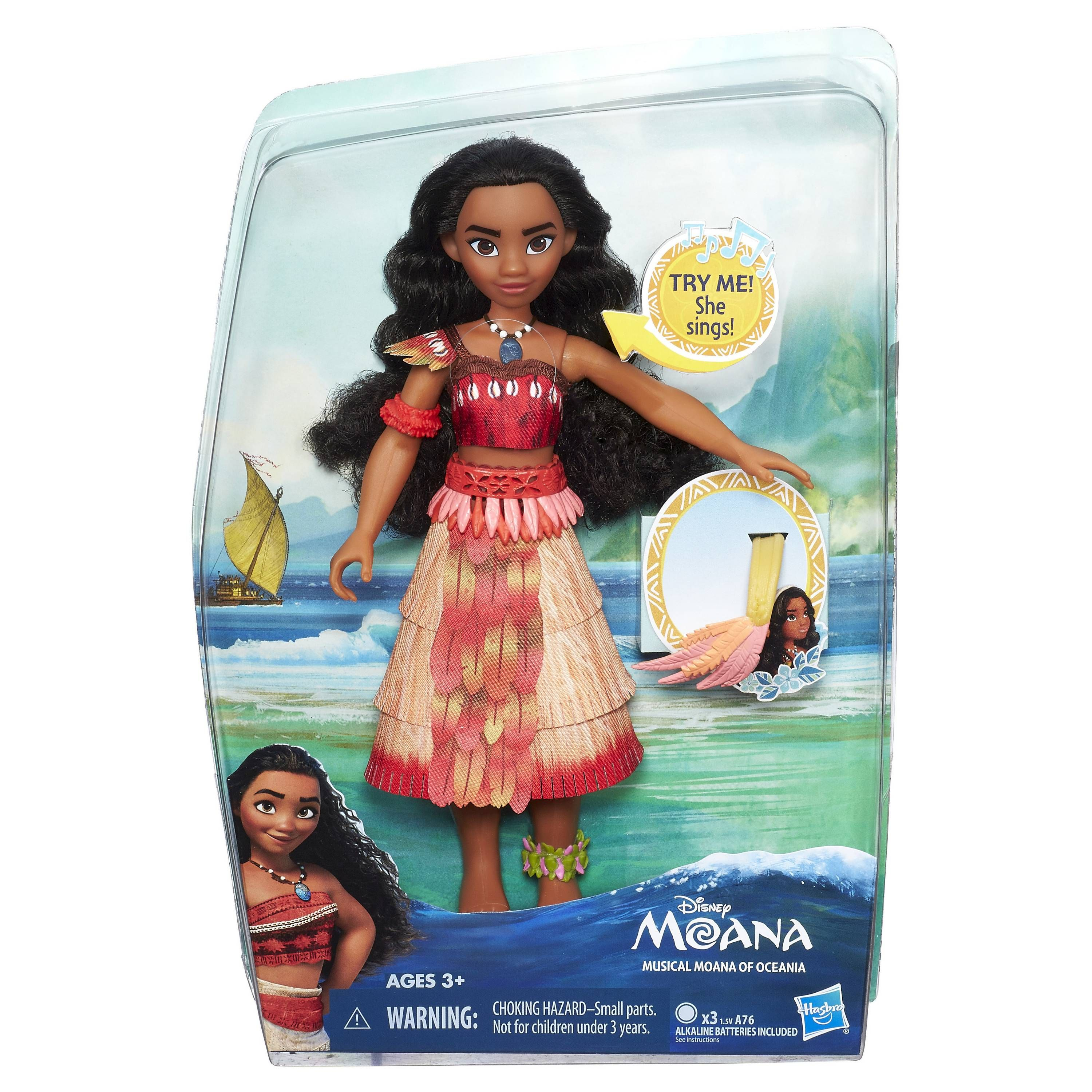 16cm Movie Moana Princess Adventure Collection Action Figure Doll Toy Gifts PVC