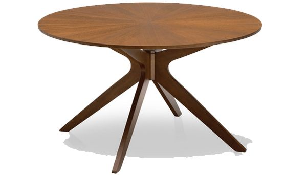 20 Irresistible 72 Inch Wooden Round Dining Tables Midcentury