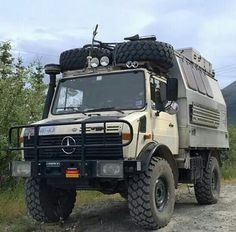 The High Wheel Based Unimog Off Road Camper Expedition Vehicle