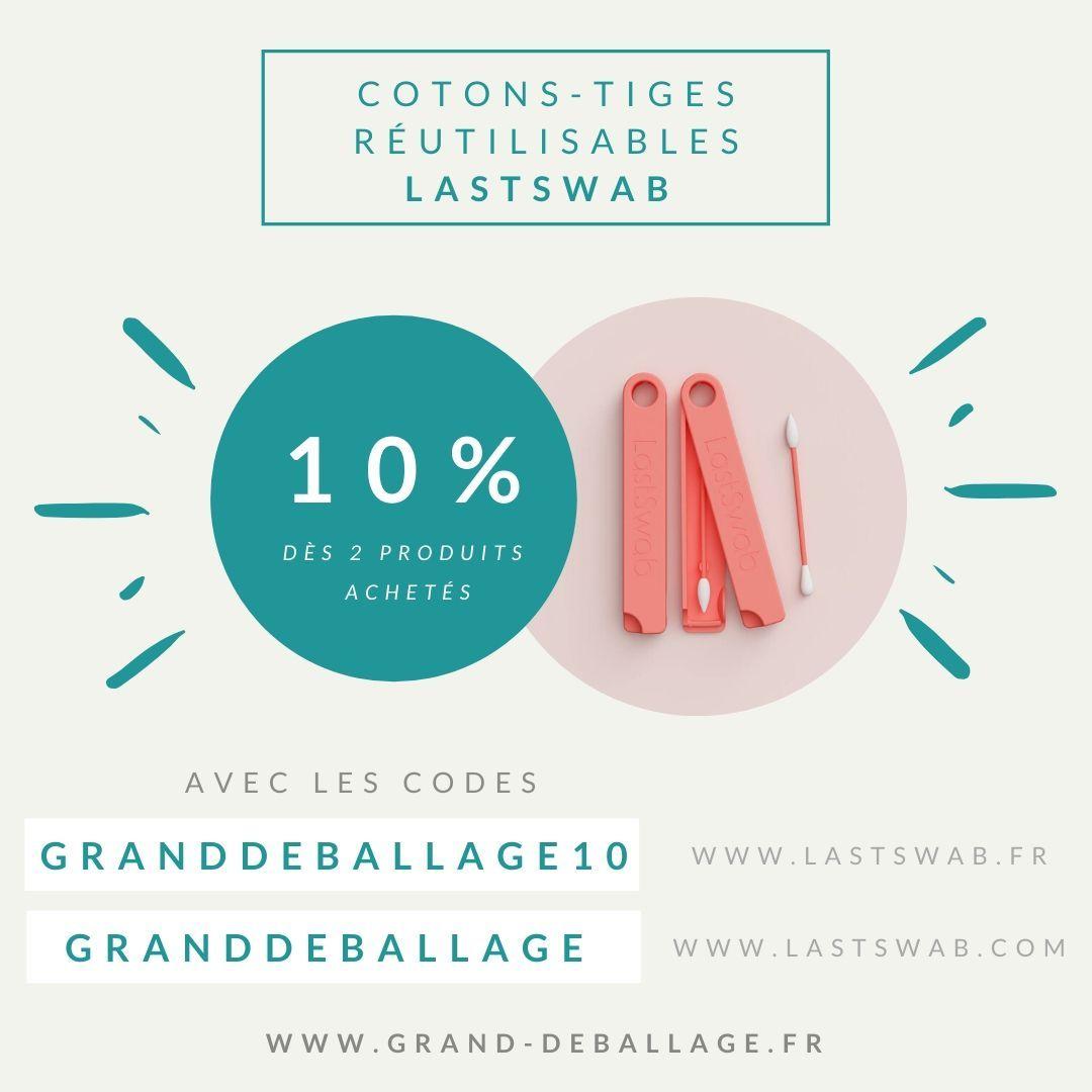 Code Promo Lastswab Coton Tige Tige Silicone