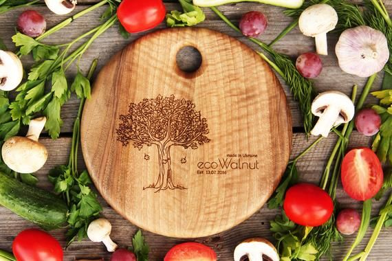 Personalized Gift For Mother, Chopping Boards, High-Quality Wooden Boards, Best Wood Walnut Boards, #broomdolls