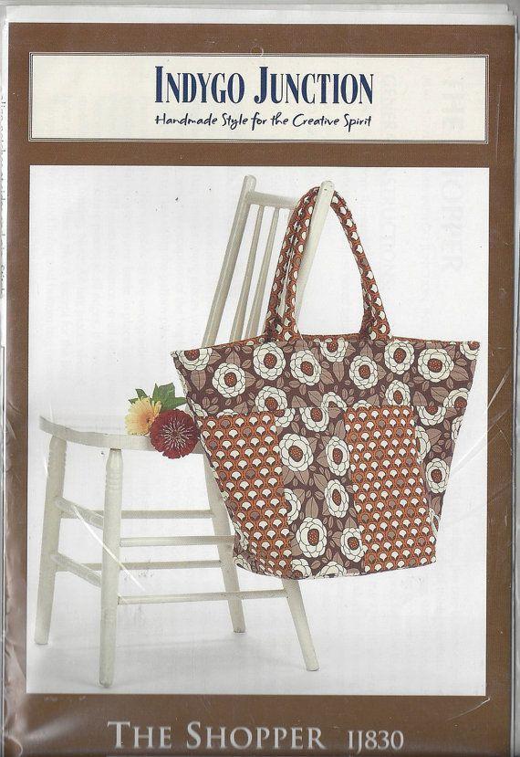 HandBag Sewing Pattern Purse Pattern Ladies Hand Bag Sewing Pattern ...