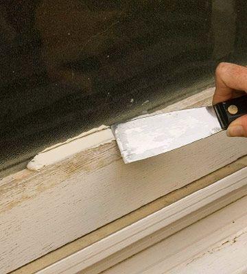 window glazing putty