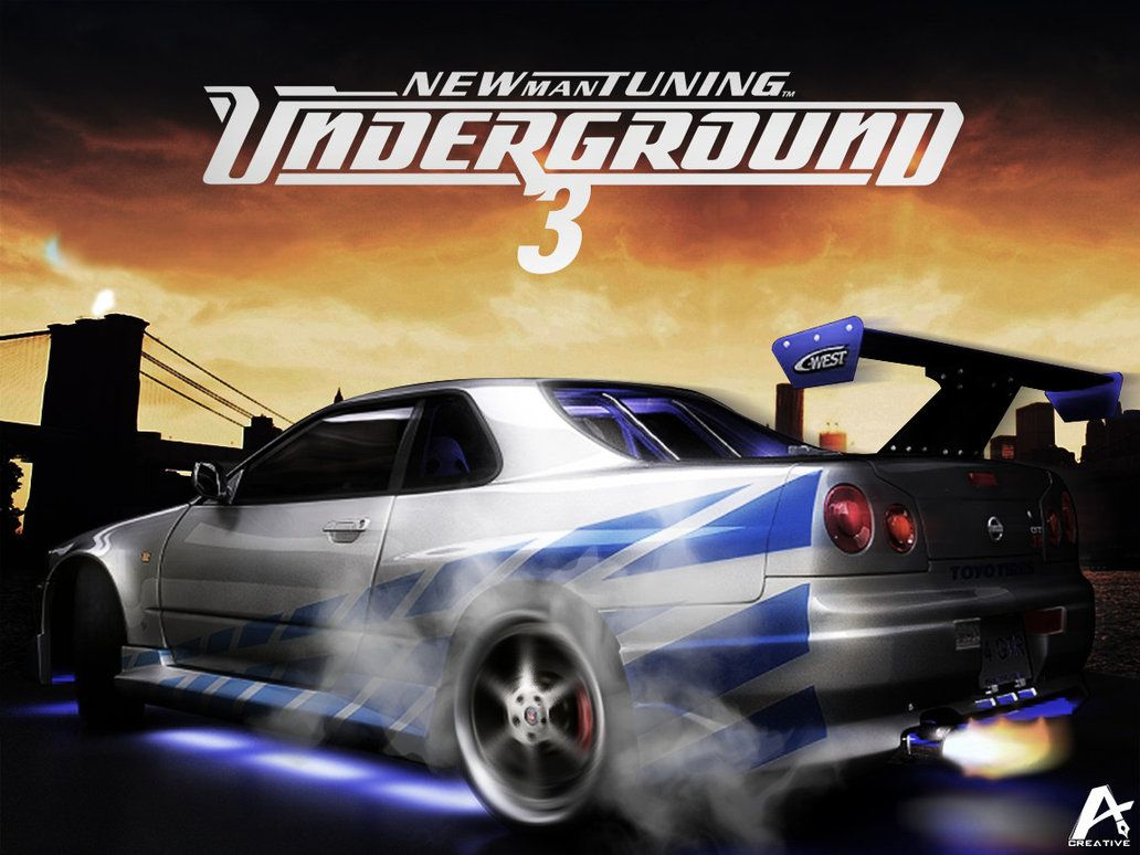 Need For Speed Underground 3 Games Wallpaper