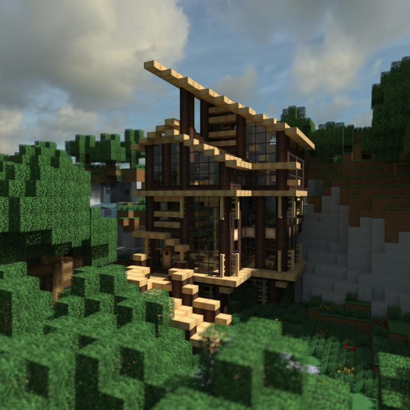 Pinterest Jungle Buildings: Collection Of Modern Minecraft Houses