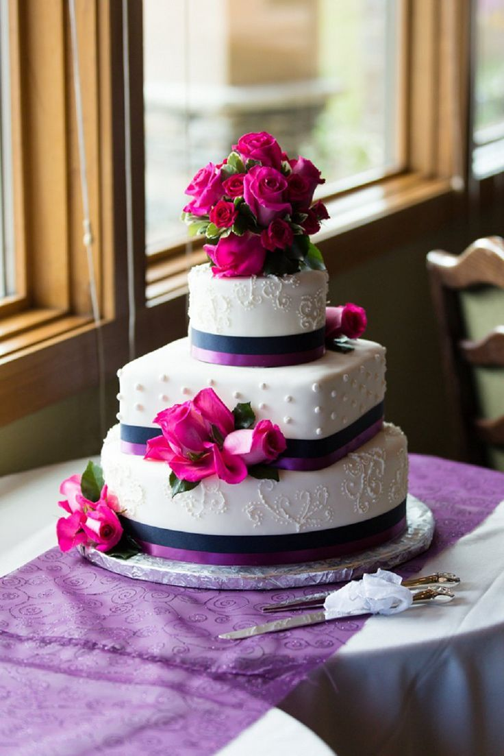purple and pink wedding cakes pink purple wedding cake do it yourself 18866