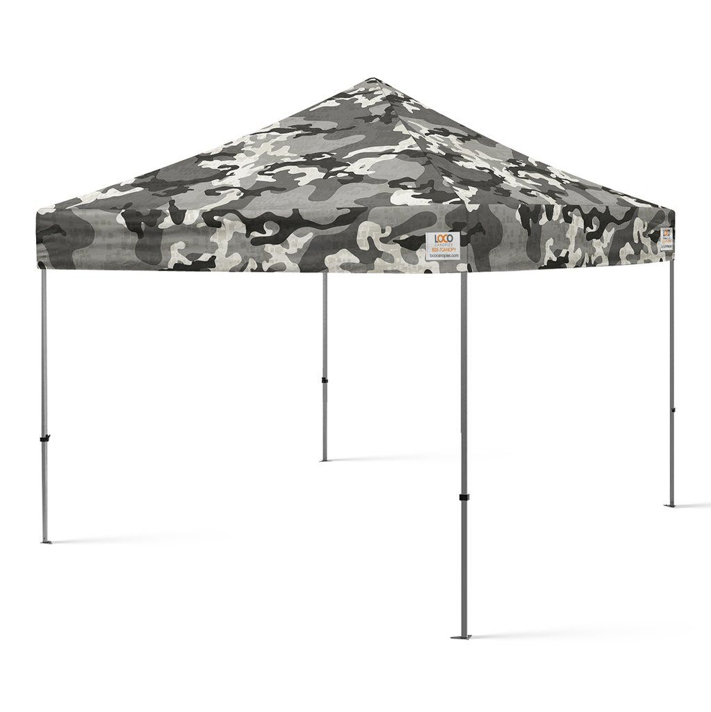 10 X10 Camo Arctic Snow Style Canopy Canopy 10x10 Canopy Canopy Frame
