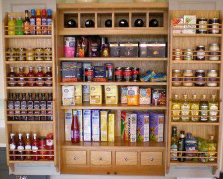 Larder from Simonu0027s Kitchens dispensas Pinterest Alacena