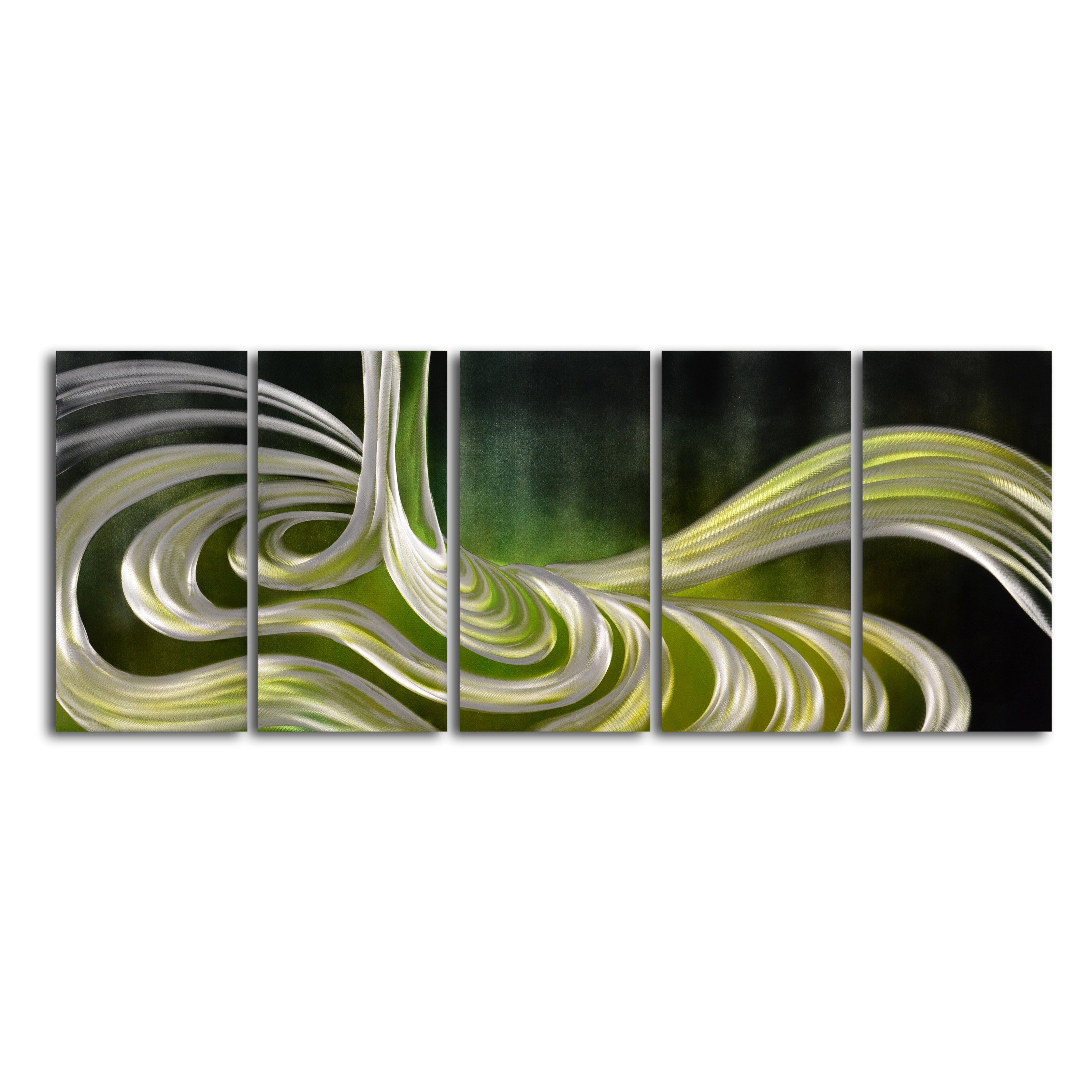 Have to have it liquid sage piece handmade metal wall art w x