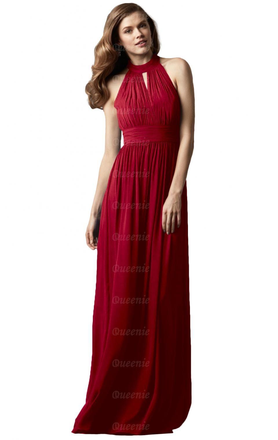 Romantica chiffon red bridesmaid dress bnnccbridesmaid uk