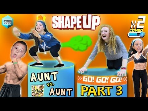 Fitness Music - FGTEEV Aunts Work Out! SHAPE UP Pt. 3:  Fitness Challenge Competition Family Fun!  #...