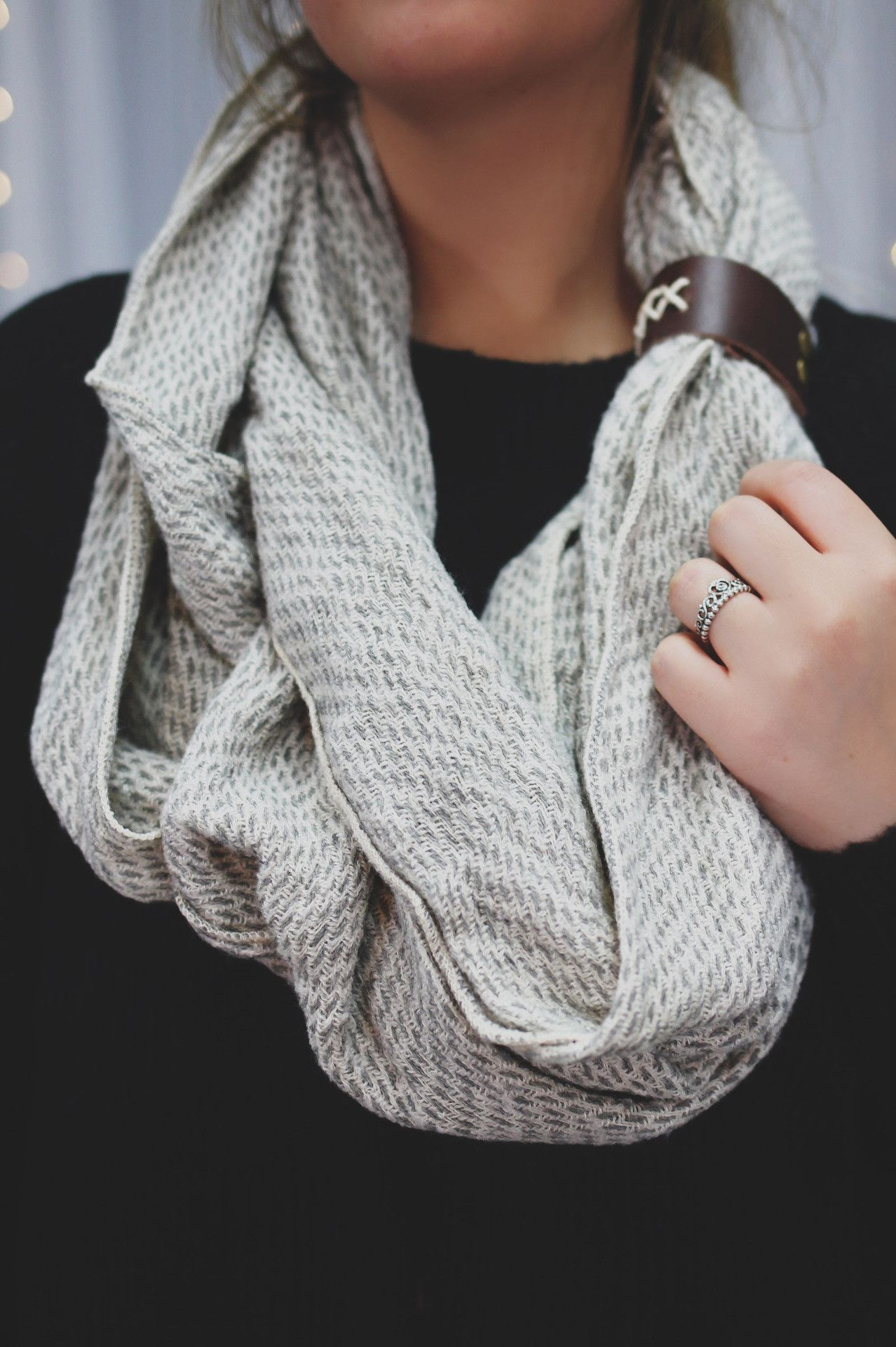 Pair Off Infinity Scarf