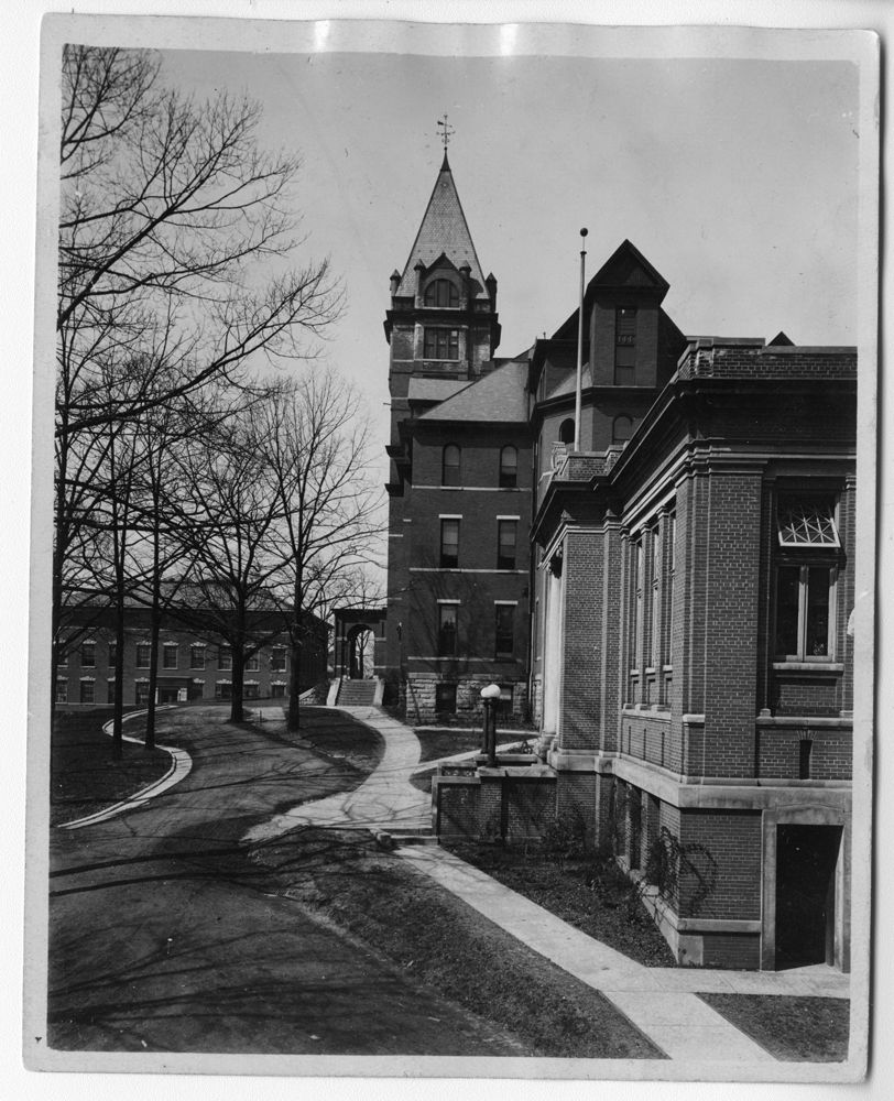 Administration Building and Carnegie Building, GT 1935