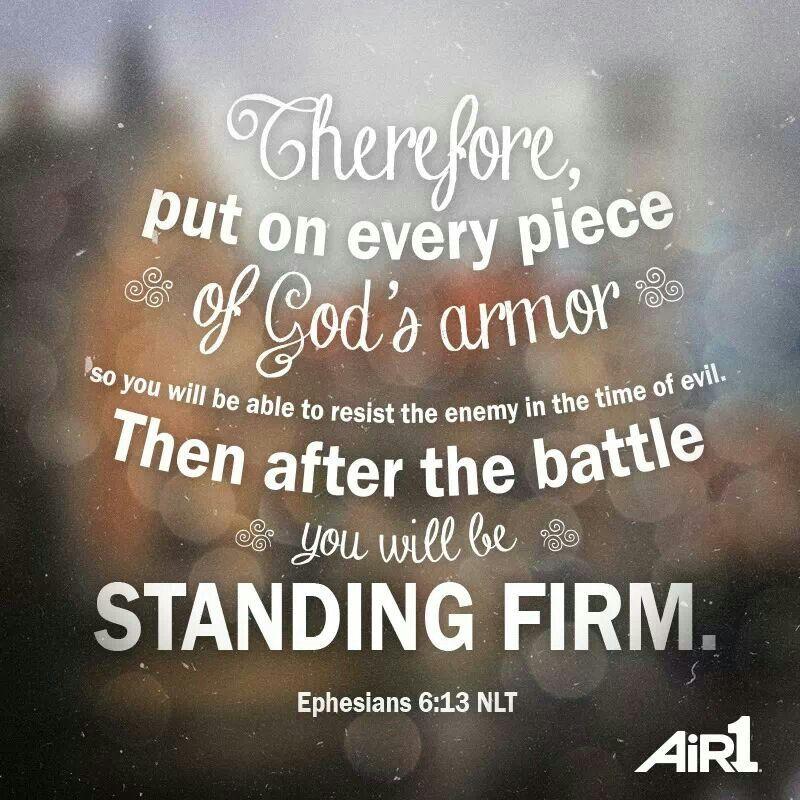 Standing Firm in Christ Jesus