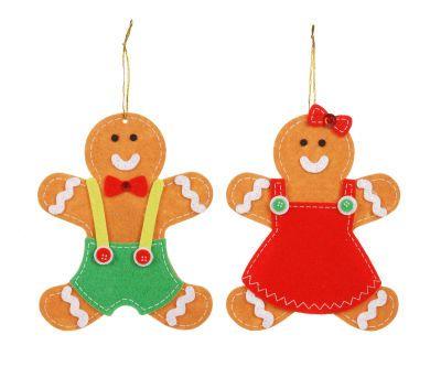 Creatology Gingerbread Felt Ornaments Kit  from Michaels  Felt