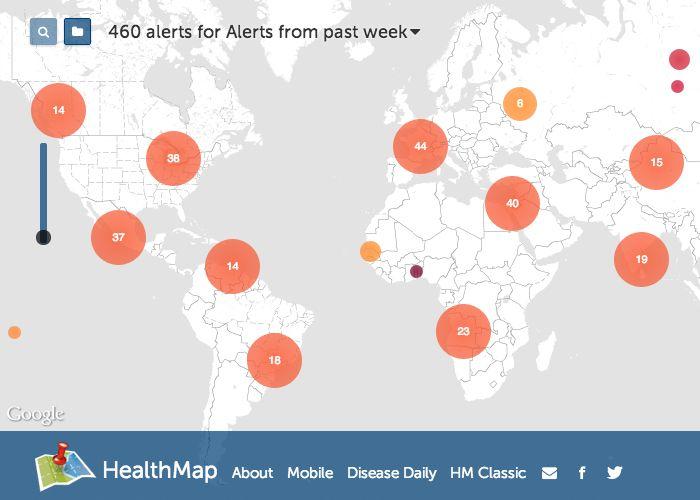 HealthMap #webdesign #inspiration #UI