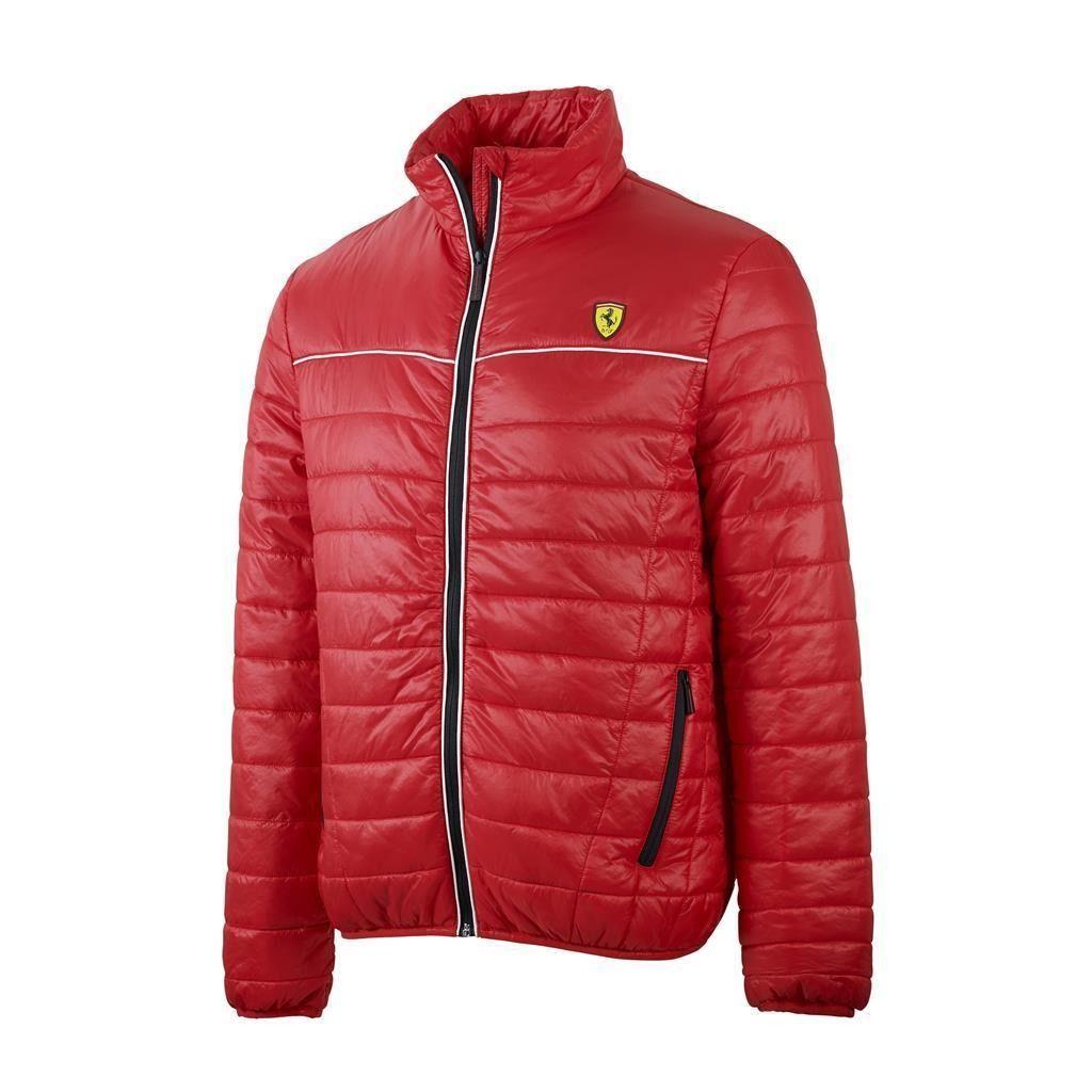Kurtka Ferrari Padded Jacket Red Mens Padded Jacket Padded Jacket Red Jacket