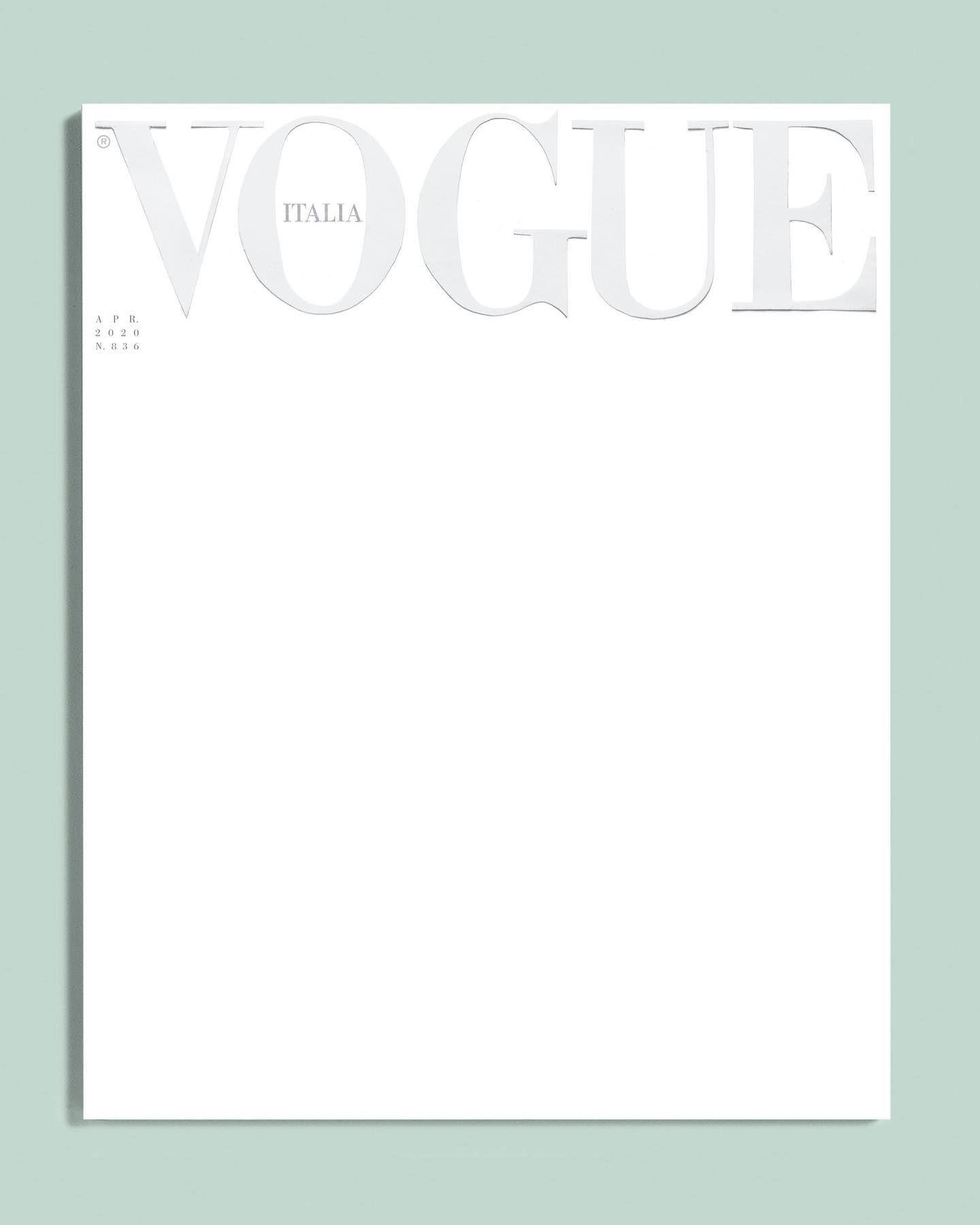The power of evocation by @vogueitalia April 2020🌿