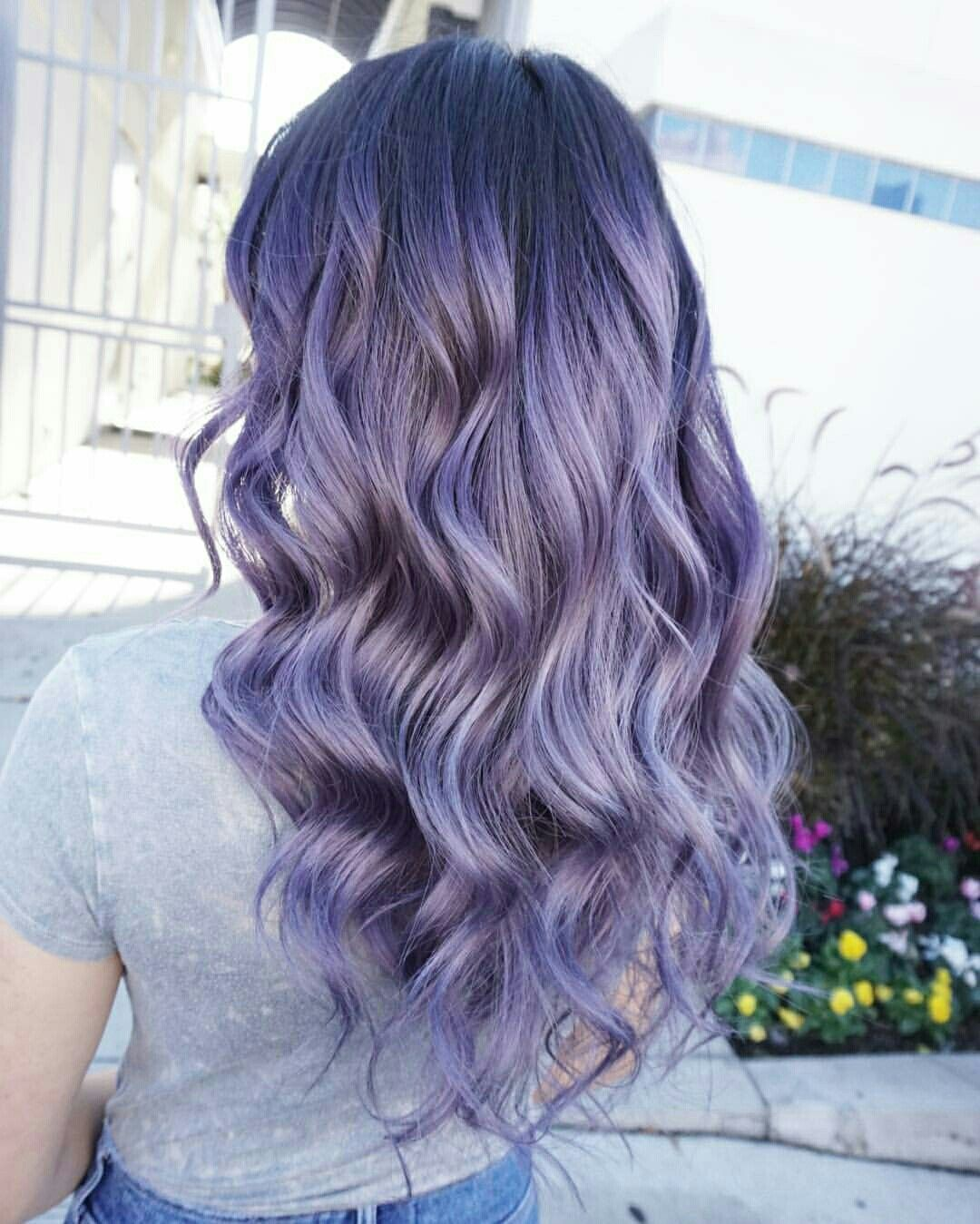 Pin By Alia M On Dyed Hair Lilac Hair Hair Styles Lilac Hair Color