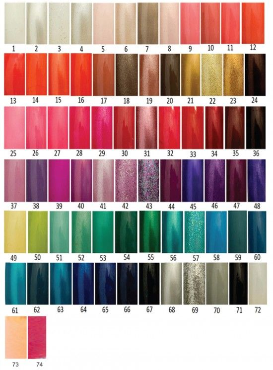 Opi Nail Polish Color Chart Exposed 74 Colors