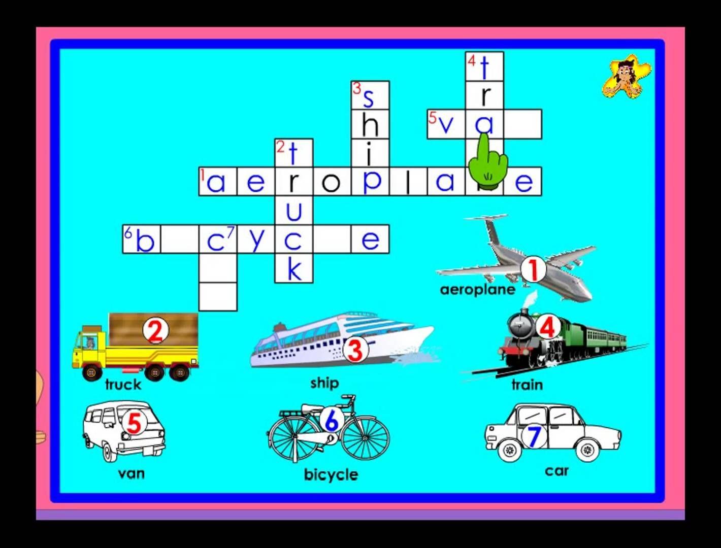 Vehicles - Kindergarten general knowledge worksheet - transport ...