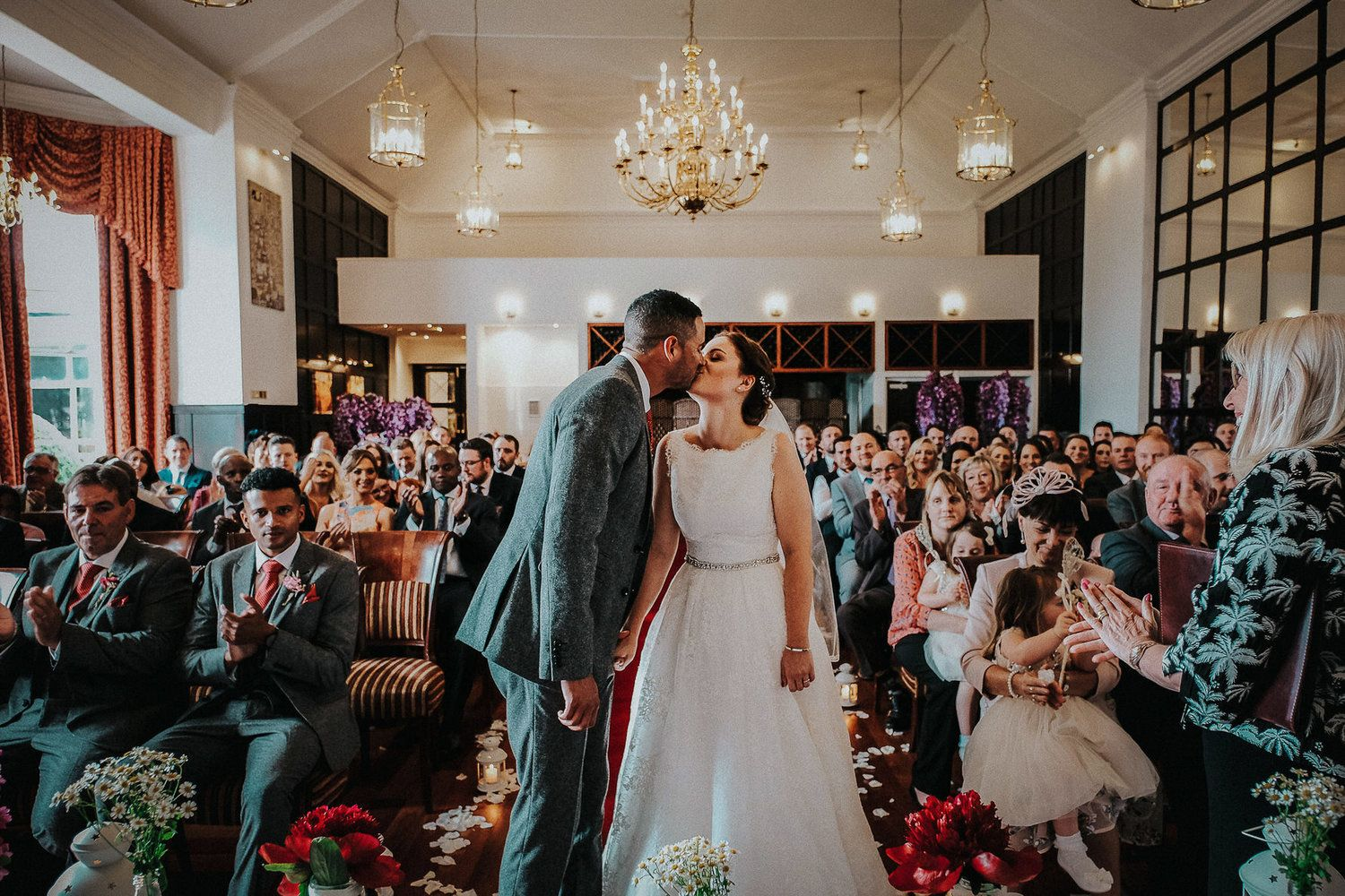 low wood bay wedding photography documentary lake district bride