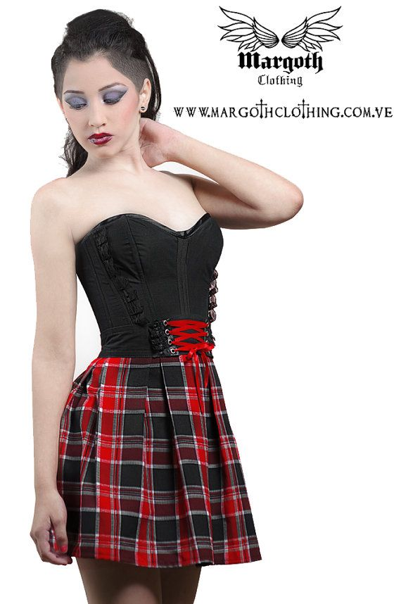 8a80a6c5ef Black Red Skirt