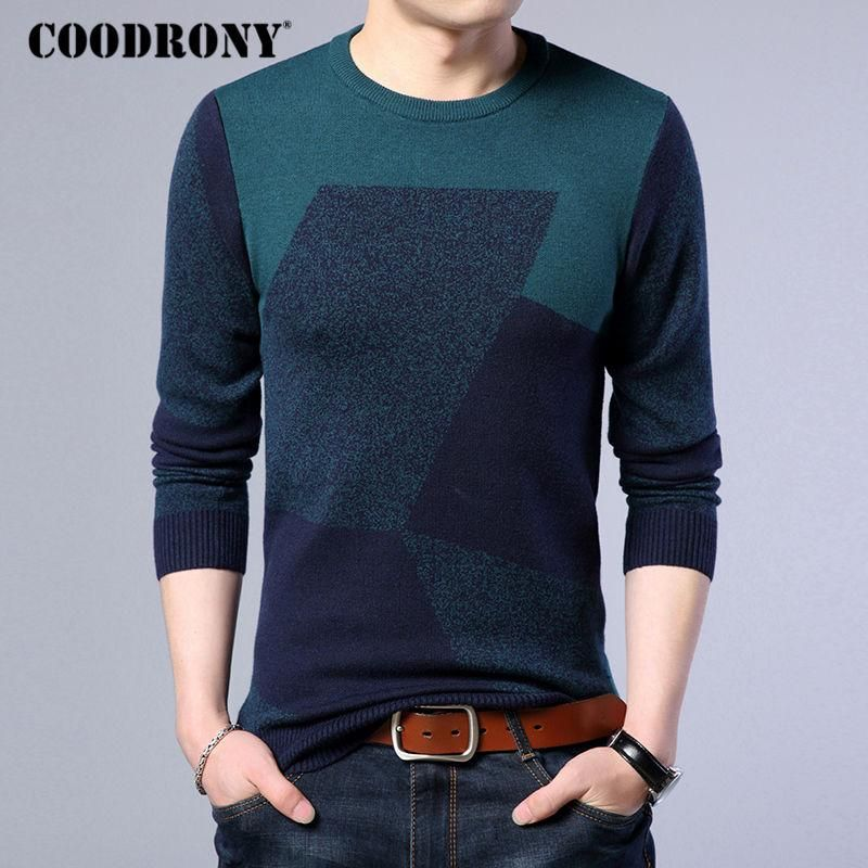 Cashmere Sweater Men New Winter Thick Warm Wool Pullover Men ...