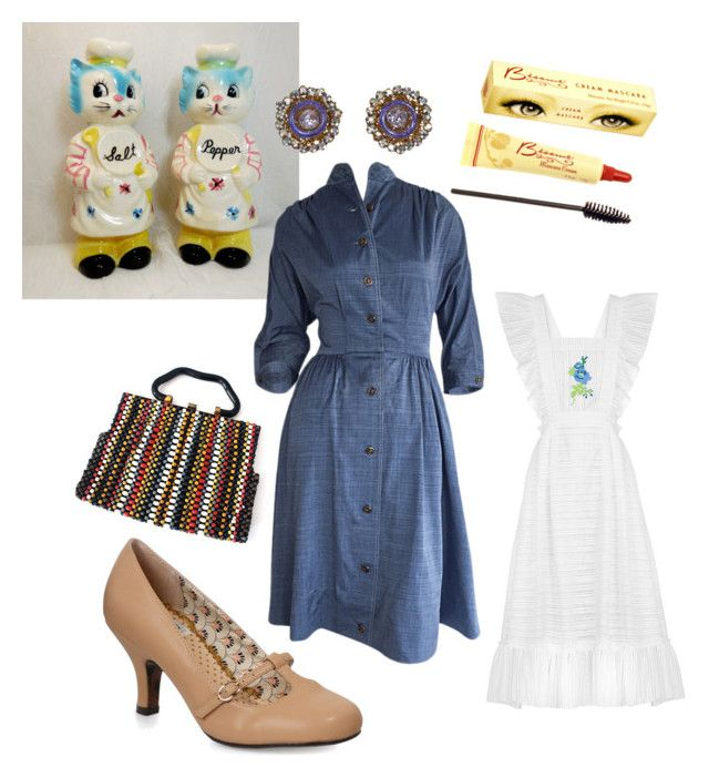 """""""1940's Housewife"""" by mom-kelmarie on Polyvore featuring FLOW the Label and Ellie"""