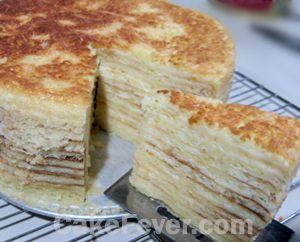 Lapis Keju Putih Telur Cakefever Com Resep Makanan Keju