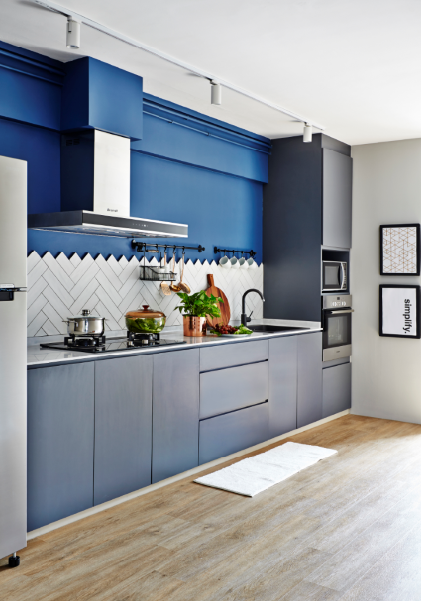 Virtual Kitchen Design Hdb Singapore: House Tour: This Scandi-style 4-room HDB Flat In Clementi