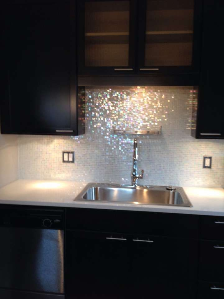 15+ Fantastic Glitter Grout Kitchen Gallery