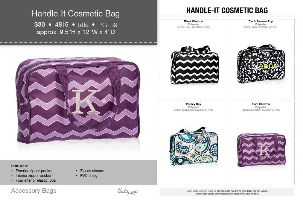 7bfcda013b18 The cosmetic bag is back!! Or the BIBLE carrying bag us back!!! Look at  these fall colors. www.mythirtyone.com KStacks or 1-803-287-0606
