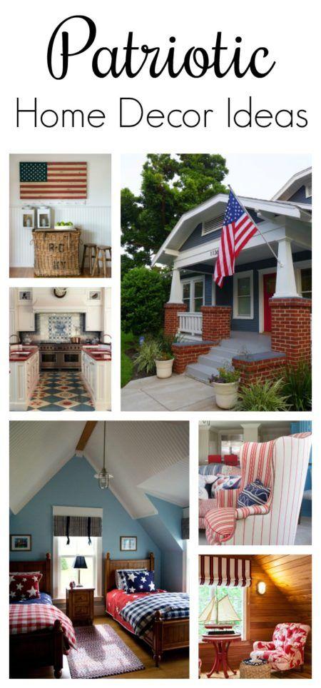 Patriotic Home Decor Ideas Country House Decor Home Decor Home Decor Inspiration