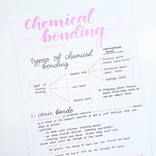PINTEREST: selinaa//♡ | Tips | Chemistry notes, Study notes