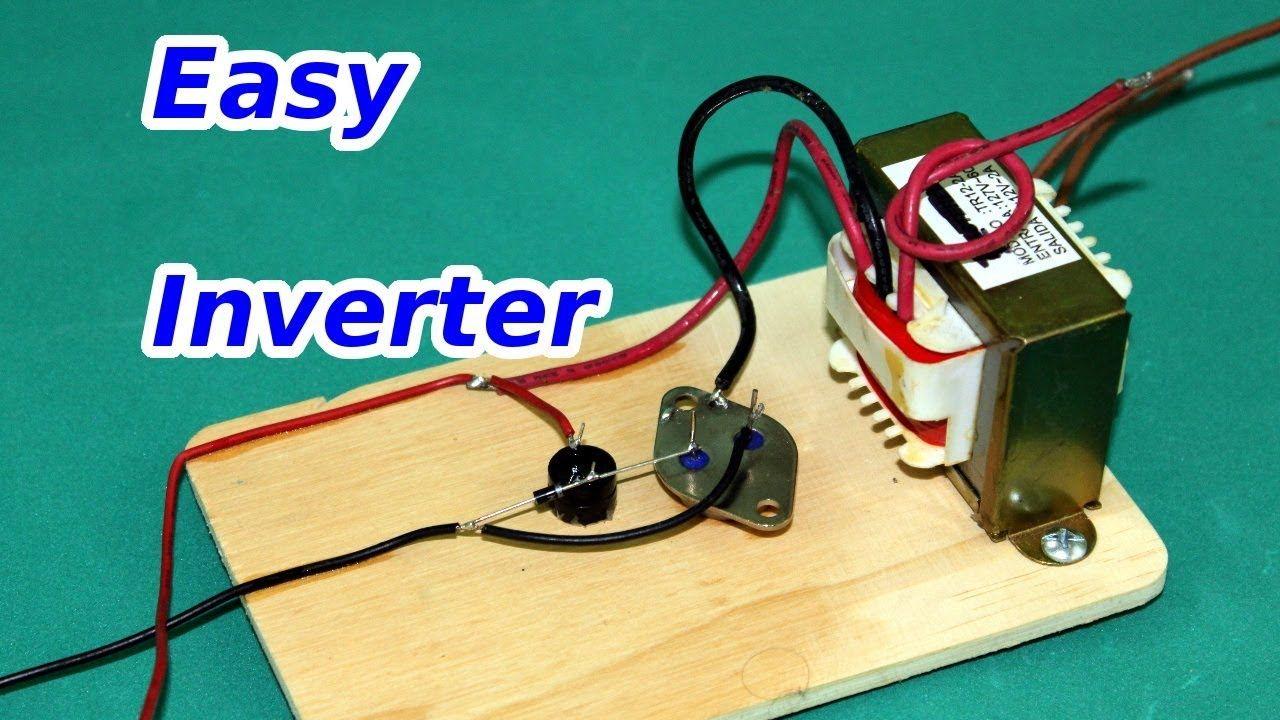 Simple Inverter 12 to 120 volts Bricolage électronique