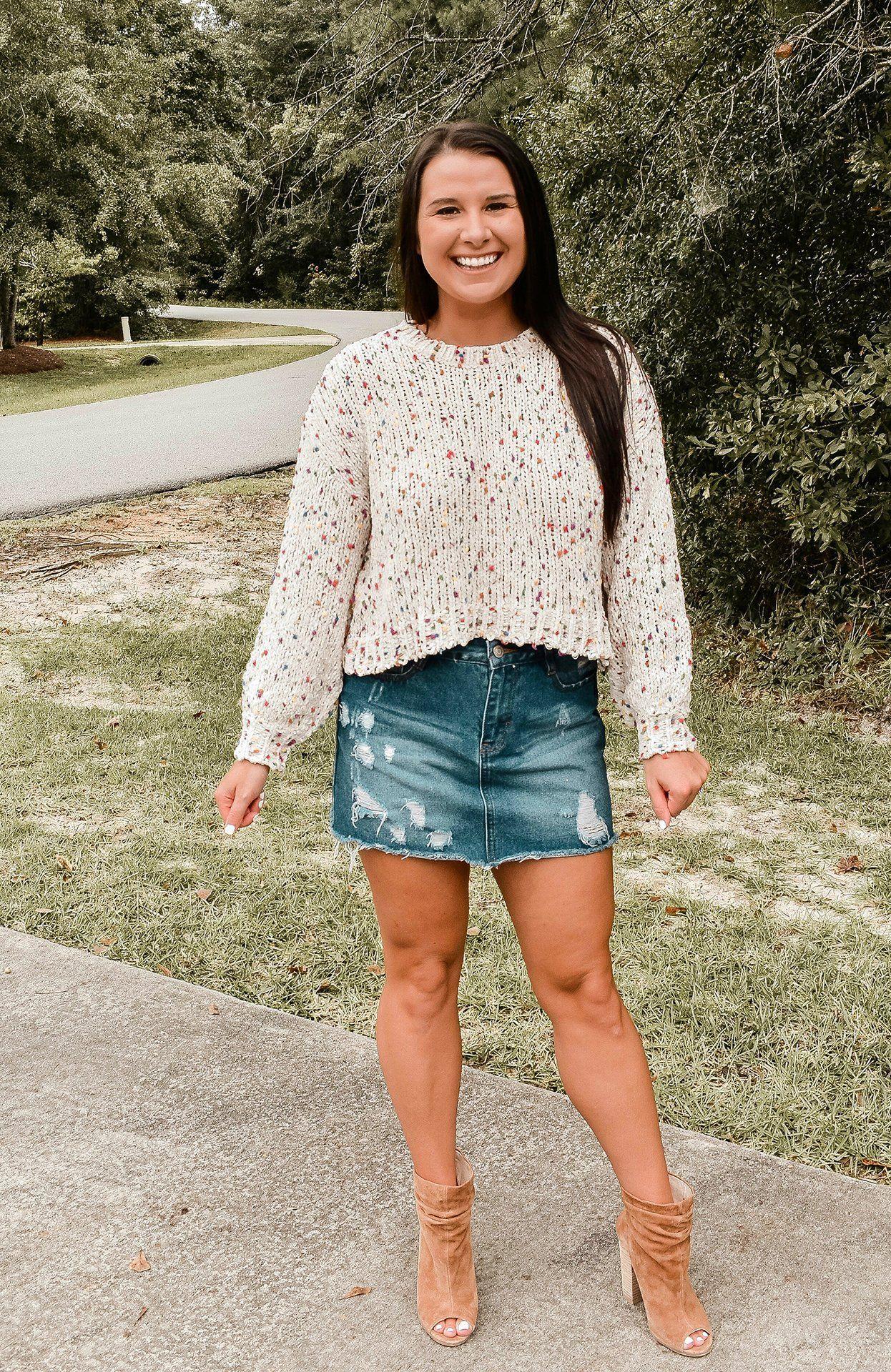 Confetti Chenille Sweater