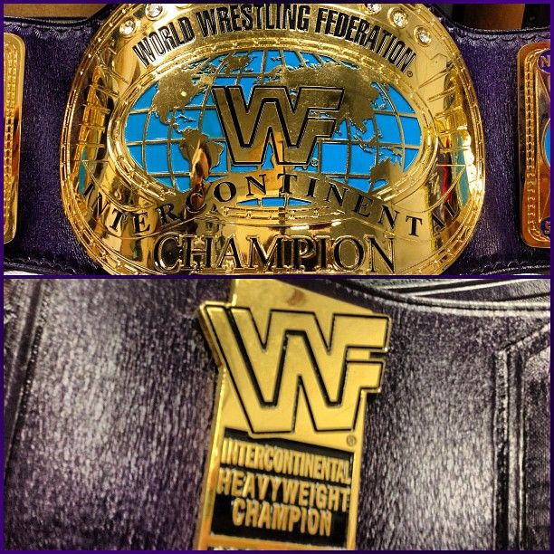 TheRock classic Intercontinental Championship. This title ...