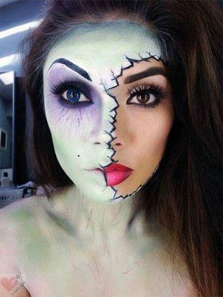Beautiful idea for Halloween Halloween - Cool  Cruel Costumes and - zombie halloween ideas