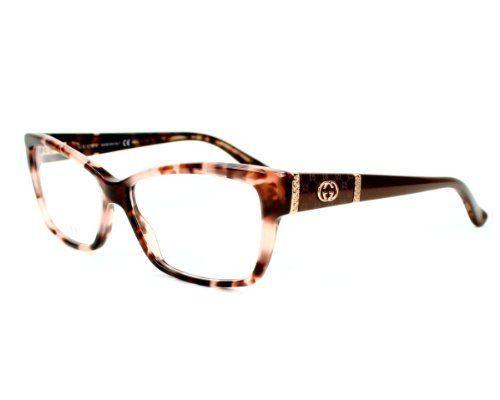c0b4a585f2ed Gucci Eyeglasses frame GG 3559 L76 Acetate - Rhinestones Havana Rose -  Brown Violet Gucci. $207.82