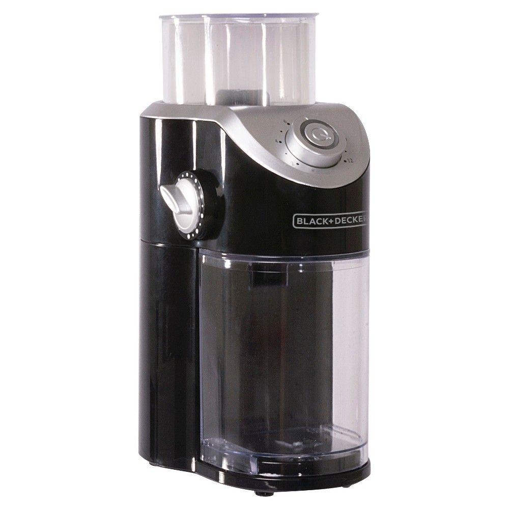 Black decker burr mill coffee grinder coffee bean