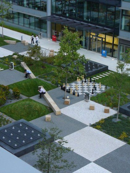 A Patchwork In The Park Urban Landscape Design Landscape Architecture Design Modern Landscaping