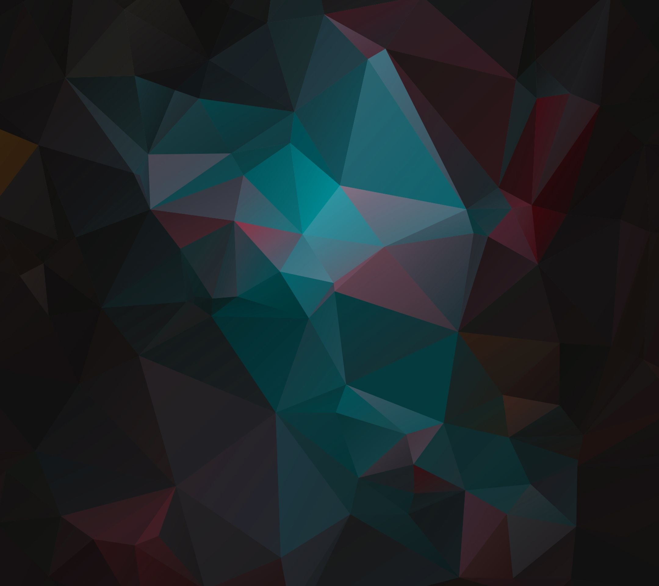 Geometric Wallpaper: Tap To See More Creative Polygon Geometric