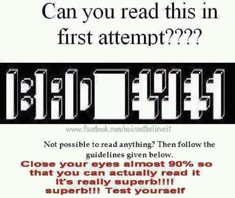 it's hard to read it when the pic is big but is so easy