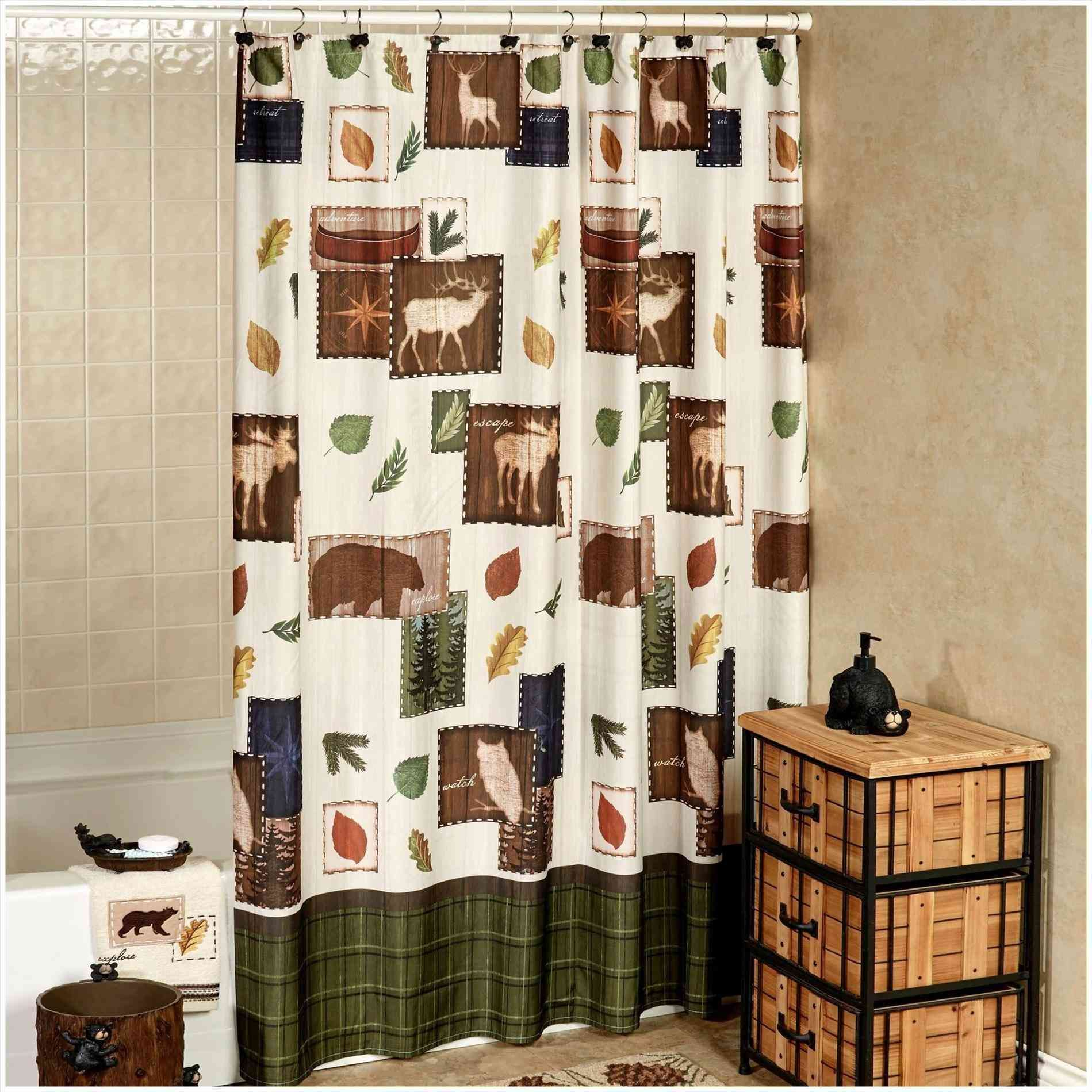 New Post rustic bathroom shower curtains LivingRooms