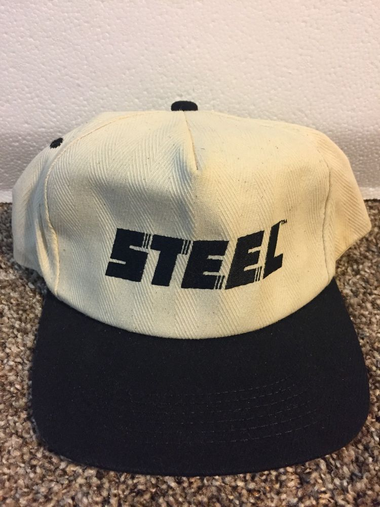 Vintage Steel K Brand Products Snapback Hat cap  fashion  clothing  shoes   accessories 0b16d57c952