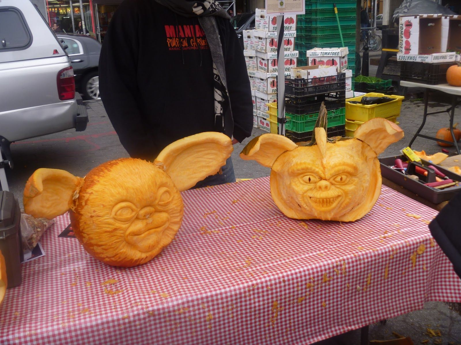 Food network pumpkin carving google search gremlins