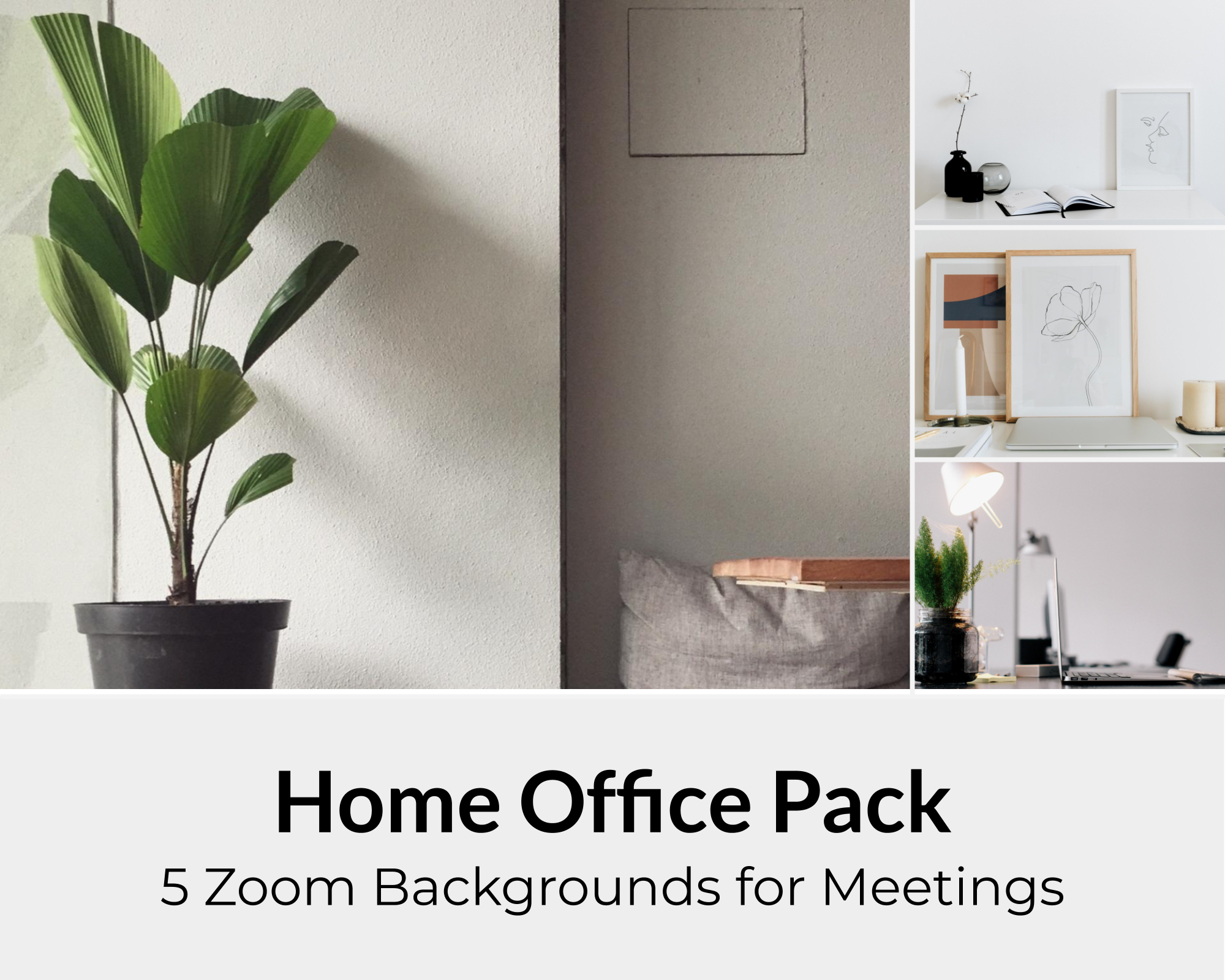 Home Office Zoom Background Pack For Virtual Meetings Instant Download Virtual Background Images Zoom Meeting Backdrops Office Background Home Office Wedding Photography Album Design