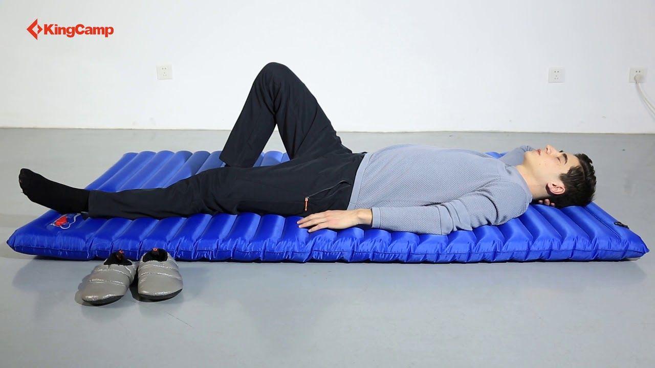 KingCamp Airbed Mattress Double Camping Lightweight Sleeping Pad Mat Cushion